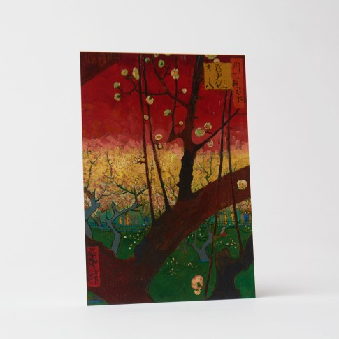 Card Plum Tree