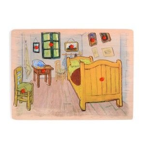 Van Gogh wooden puzzle The Bedroom