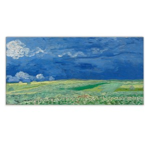 Van Gogh Canvas L Wheatfield under Thunderclouds