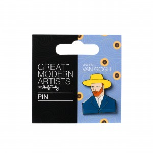 Vincent van Gogh Lapel pin