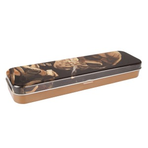 Van Gogh Pencil Case Tin   Skull