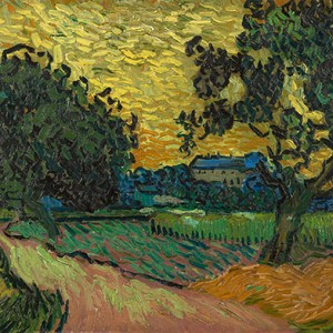 Van Gogh Giclée, Landscape at Twilight