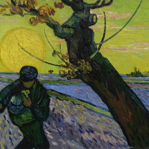 Van Gogh Postcard  The Sower