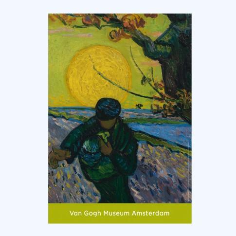Van Gogh Poster The Sower - Van Gogh Museum shop