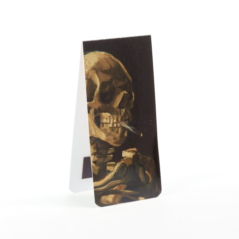 Van Gogh Bookmark skull