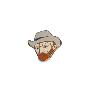 Van Gogh Pin Self-Portrait