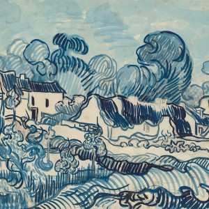 Van Gogh Giclée, Landscape with houses