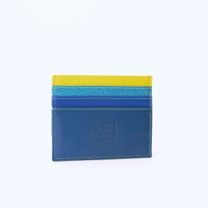 Van Gogh MyWalit® Leather double sided creditcard holder Irises