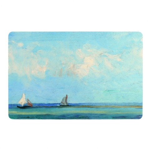 Placemat Seascape near Les Saintes-Maries-de-la-Mer