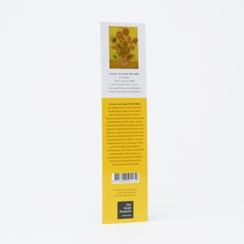 Van Gogh Bookmark paper, Sunflowers