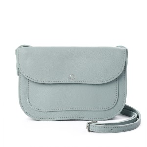 Van Gogh Keecie® Leather bag Dusty Green