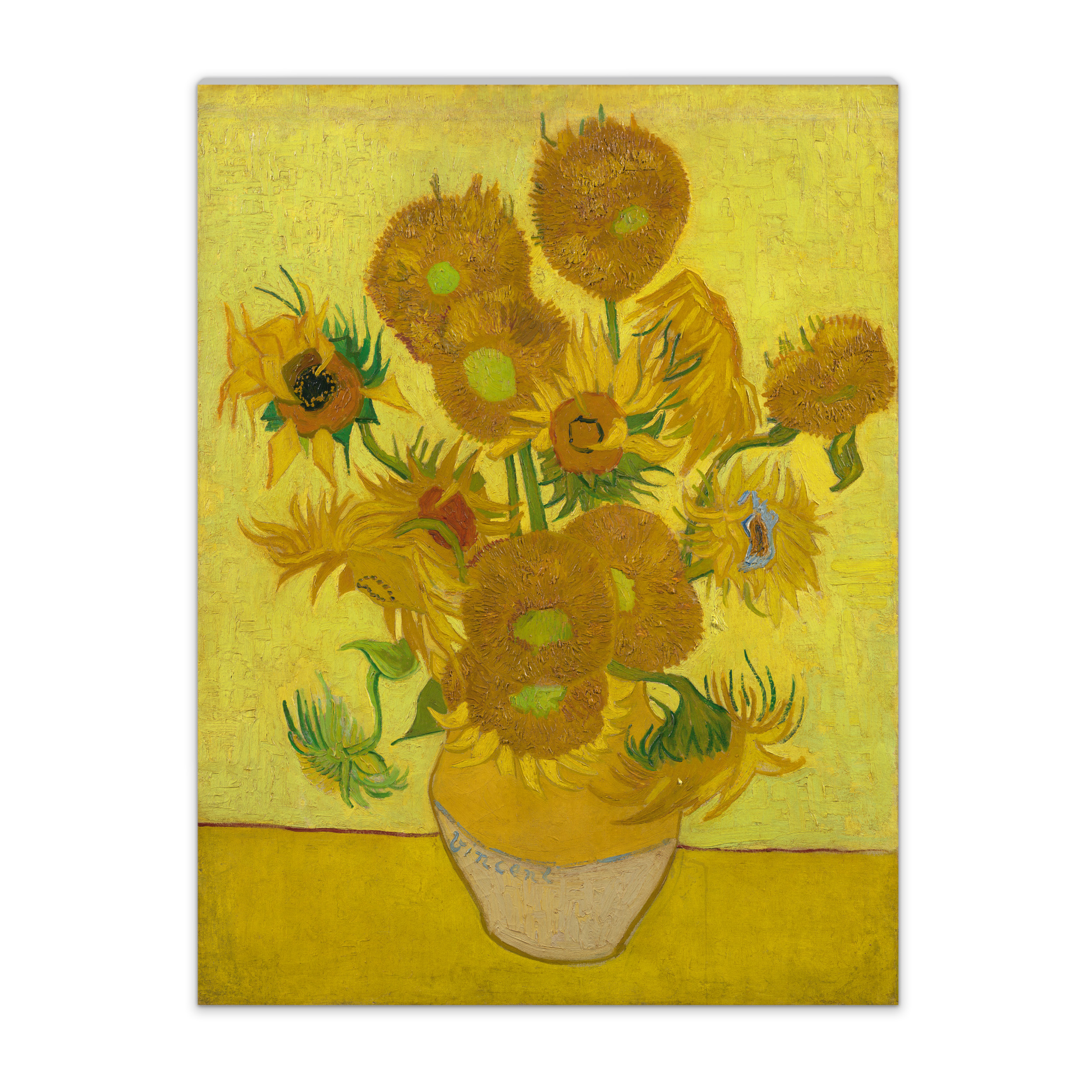 Van Gogh Canvas L Sunflowers Van Gogh Museum Shop