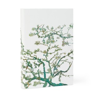 Notebook Almond Blossom print