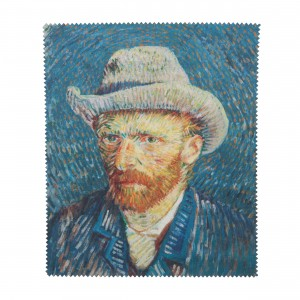 Van Gogh Lens cloth Self-Portrait with grey felt hat