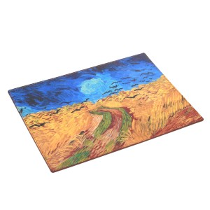 Van Gogh Recife Paris® Leather mousepad Crows