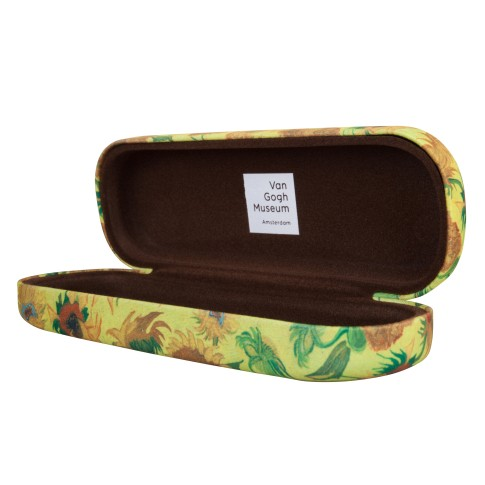 Van Gogh Eyeglass case Sunflowers
