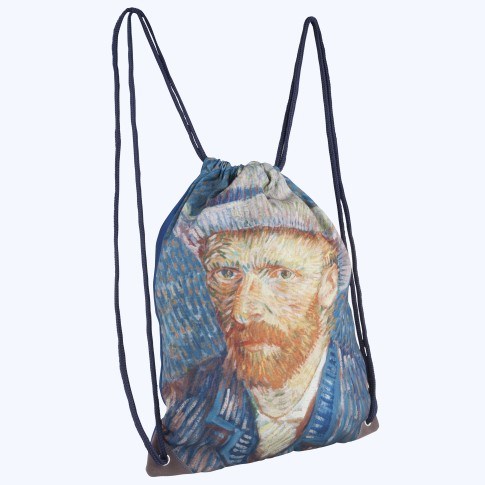Van Gogh Drawsting bag Selfportrait