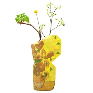 Foldable vase Sunflowers