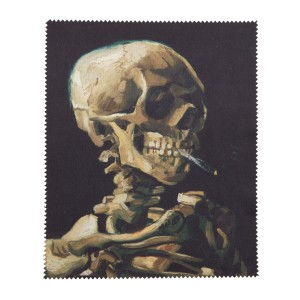 Van Gogh Lens cloth Skull of a Skeleton