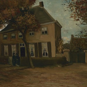 Van Gogh Giclée, The Vicarage at Nuenen