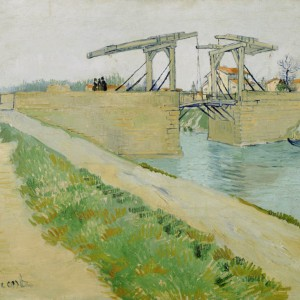 Van Gogh Postcard  The Langlois bridge