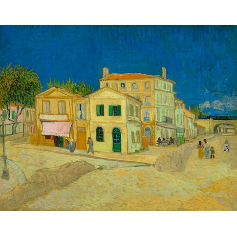 Van Gogh Giclée, The Yellow House (The Street)