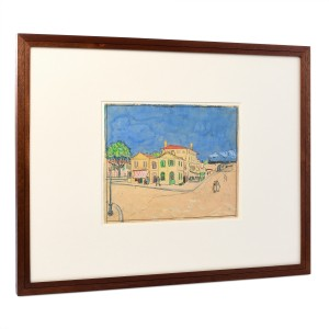 Van Gogh Facsimile The Yellow House (The Street)