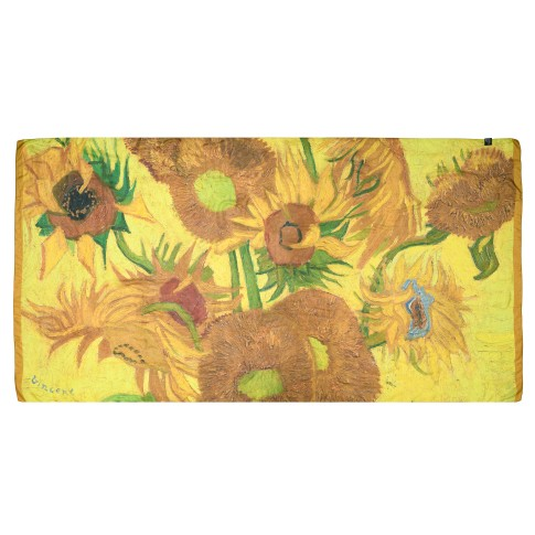 Van Gogh Large silk scarf Sunflowers