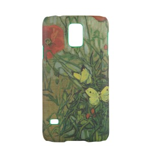 Van Gogh Phone case Butterflies and Poppies