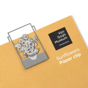 Paperclip laser cut Sunflowers