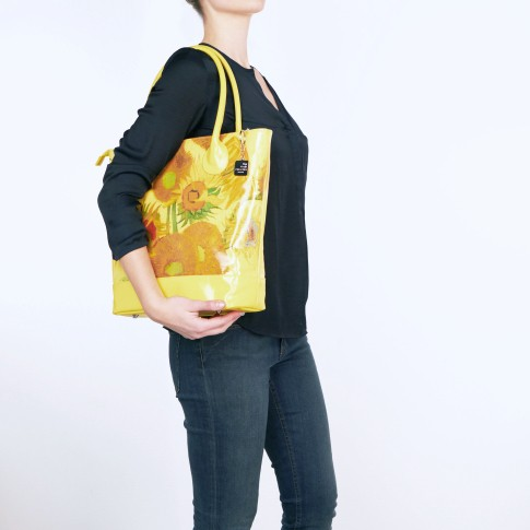 Shoulderbag Sunflowers