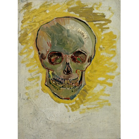 Van Gogh Postcard Skull - Van Gogh Museum shop
