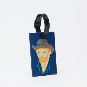 Van Gogh Bag tag Self-Portrait