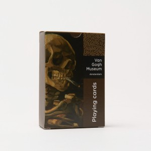 Van Gogh Playing cards Skull