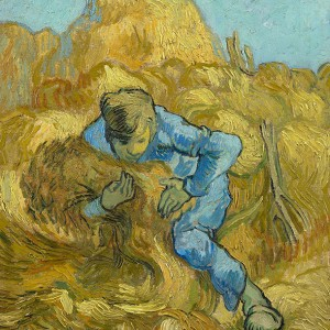 Van Gogh Giclée, The Sheaf-Binder (after Millet)