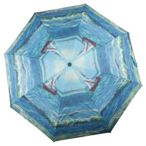 Van Gogh Umbrella Seascape