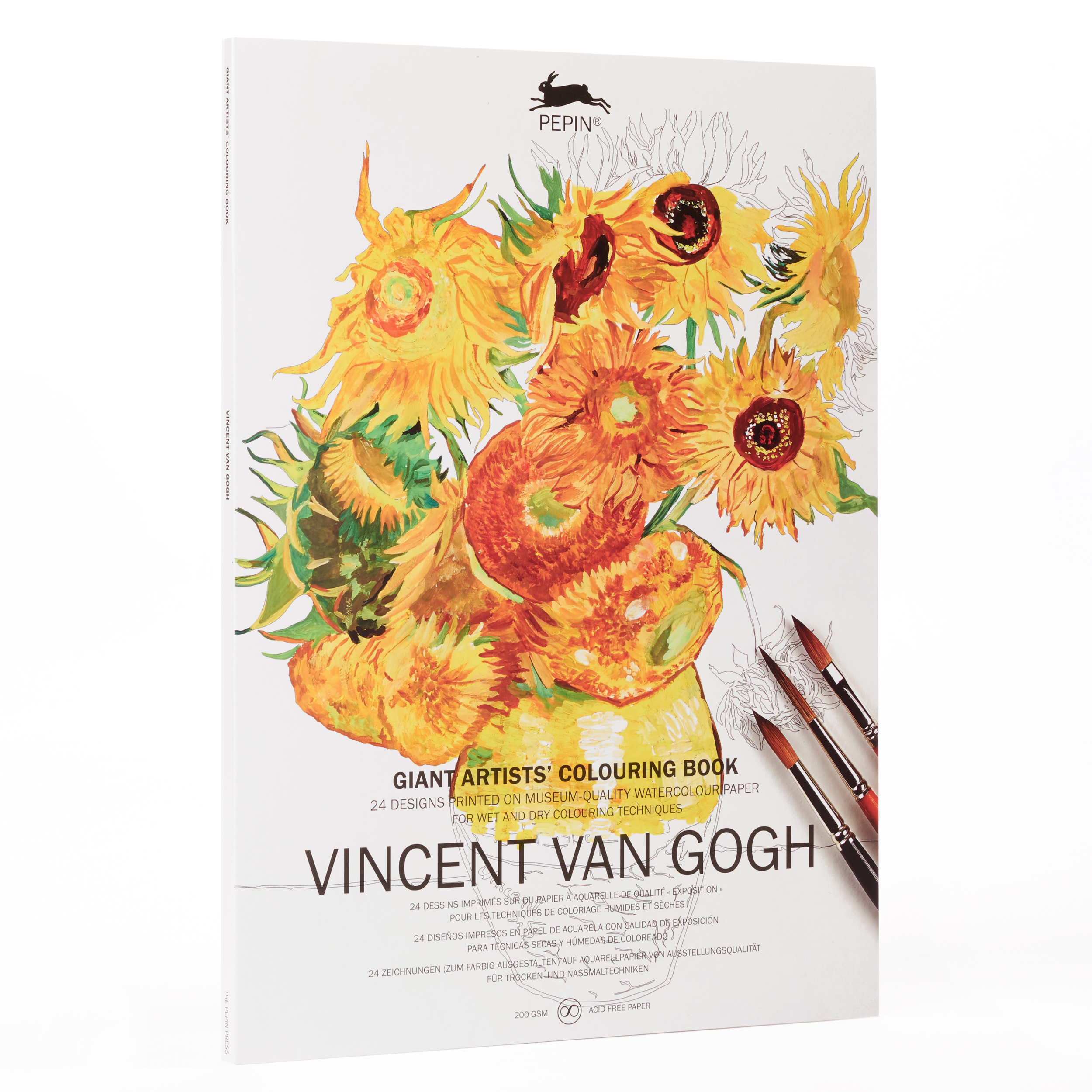 Colouring book for adults - Van Gogh Museum shop