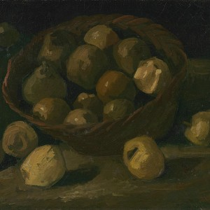 Van Gogh Giclée, Basket of Apples