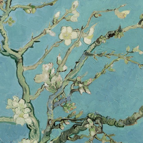 Van Gogh 2D Wallpaper Almond Blossom