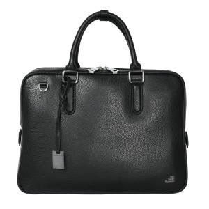 Smaak® Leather briefcase Van Gogh Crows black