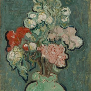 Van Gogh Giclée, Vase of Flowers