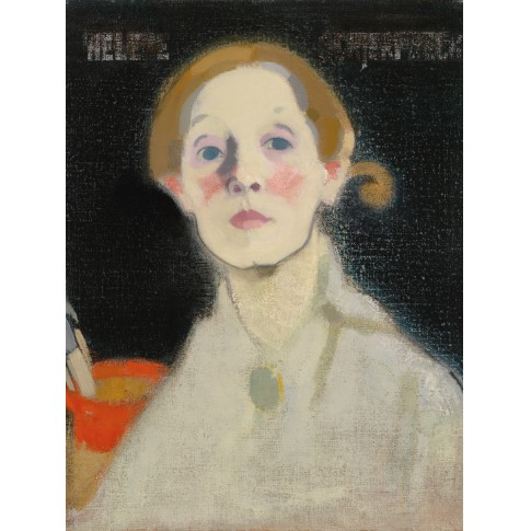 Print S Schjerfbeck Self-Portrait