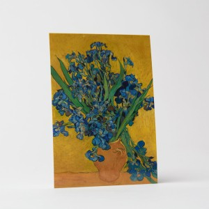 Van Gogh Card Irises