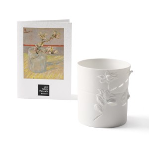 Van Gogh Candle holder Almond Sprig