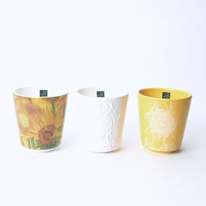 Van Gogh Royal Goedewaagen® Set of 3 mugs Sunflowers