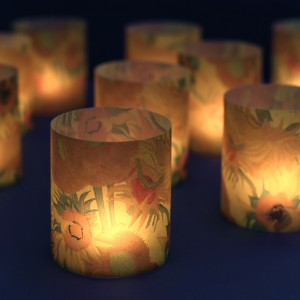 Van Gogh Lanterns Sunflowers