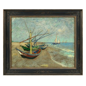 Van Gogh Museum Edition, Fishing Boats on the Beach #0090