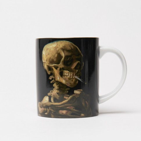 Van Gogh Mug Skull of a Skeleton