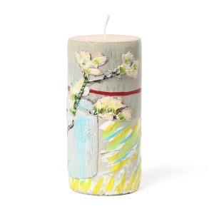 Van Gogh Candle Sprig of Flowering Almond