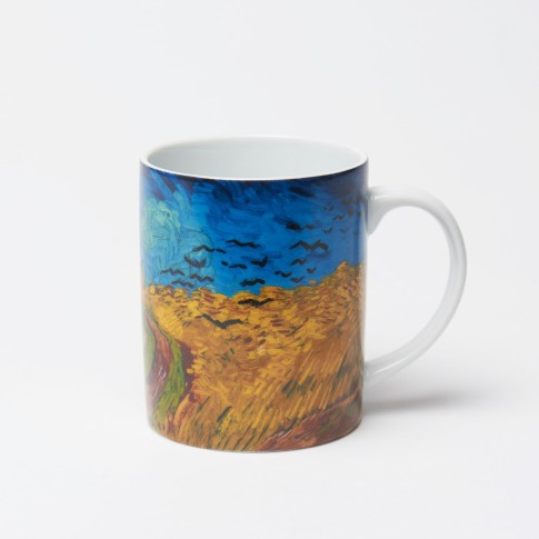 Van Gogh Mug Wheatfield with Crows